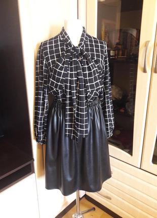 Шикарный комплект из юбки и блузы
