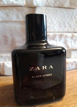 Духи zara black amber night collection 100ml. оригинал испания