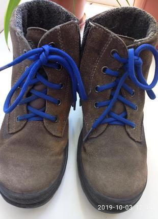 Ботинки кожа superfit goretex размер 31