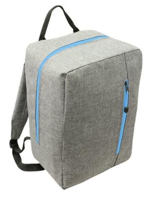 Рюкзак -сумка ручная кладь wizzair rgl 40x30х20.польша!