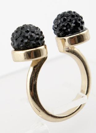 Кольцо zara black сток без бирки