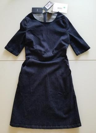 Джинсовое платье armani jeans