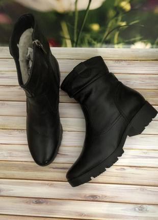 Sale кожаные зимние сапоги польша