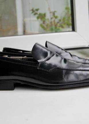 Мужские туфли пенни лоферы prada