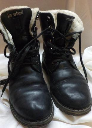 Зимние ботинки - тимберленды