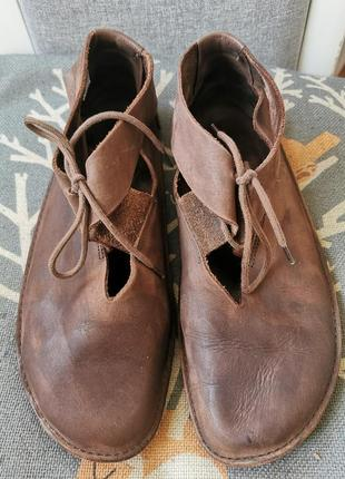 Ортопедические туфли / мокасины, натуральная кожа, loints