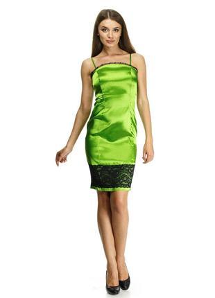 Шелковое платье cher nika