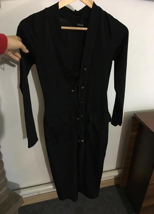 Стильное платье от boohoo,размер s