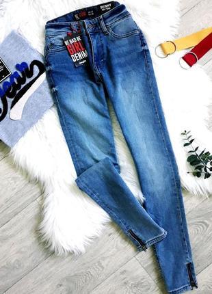 Крутые джинсы скинни jennyfer