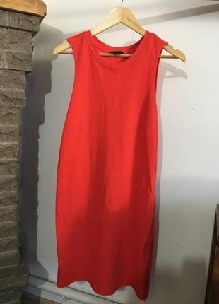 Стильное яркое платье ,размер м