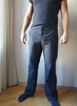 Классические мужские темные брюки