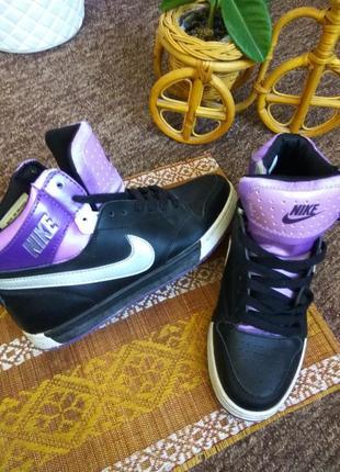 Женские кроссовки кеды ботинки nike