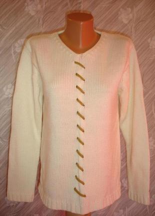 Белый свитер -blue seven-сток