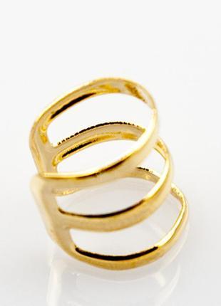 Одно украшение - 2 решения: серьги обманки и фаланговые кольца серьги обманка тройная