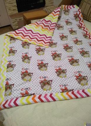 Детское стёганое одеяльце