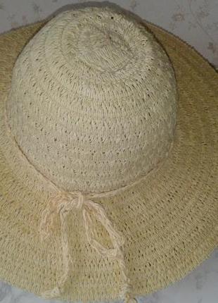 Летня шляпа с большими полями style no