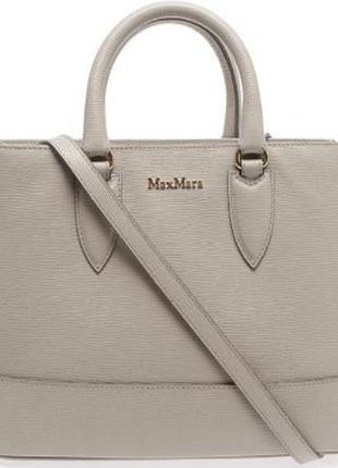 Кожаная сумка от max mara оригинал