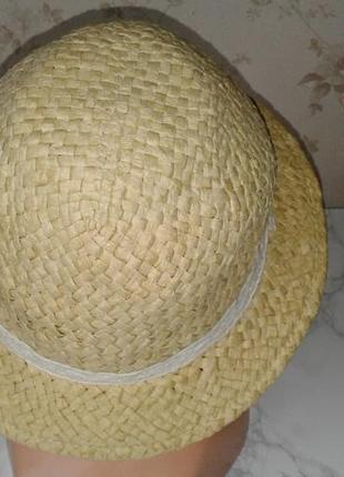 Летняя шляпка с небольшими полями george 100% paper