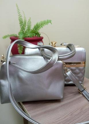 Женская сумка два в одном