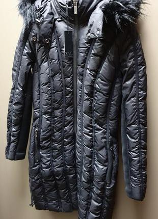 Новая американская женская куртка пуховик пальто zac zac posen. оригинал! размер m, l.