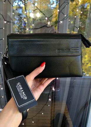 Кошелек клатч портмоне мужской черный