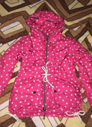 Стильна яскрава куртка