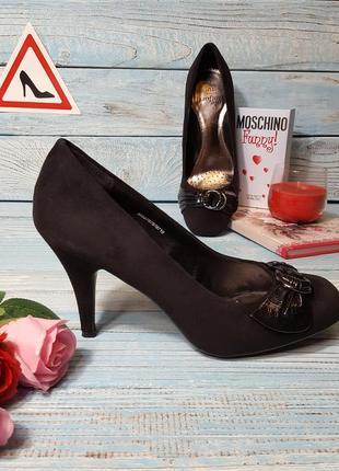 Супер комфортные замшевые туфли лодочки с ортопедической стелькой tu р. 40 (7)