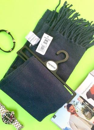 Классический широкий шарф, длина 178, финляндия