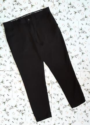 Акция 1+1=3 фирменные черные узкие брюки штаны zara man, размер 48 - 50