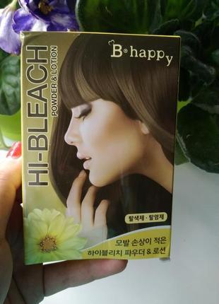 Отбеливатель для волос hi - bleach powder & lotion