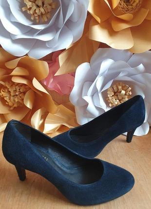 Туфлі із натуральної замші