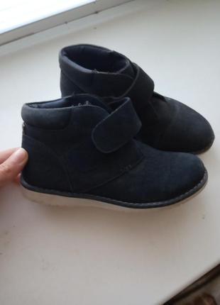 Замшевые ботинки 31 размер