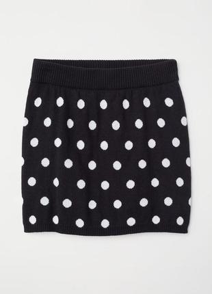 Вязаная юбка для девочки h&m