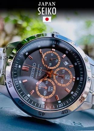 - 41% | мужские часы хронограф seiko chronograph sks521p1 (оригинальные, новые с биркой)