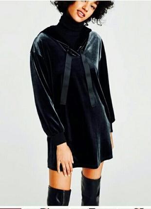 Мегастильный свитшот-платье с карманами! размер s-m
