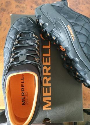Оригинал кроссовки merrell ice cap moc ii j61391 черно-оранжевые