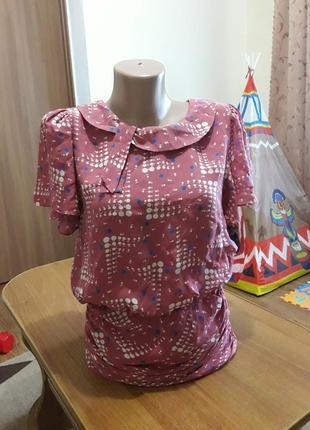 Нарядна  шовкова блуза