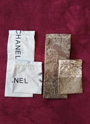 Набор эко-мешок/мешочек-сумочка для вещей, бижутерии, косметики и прочего