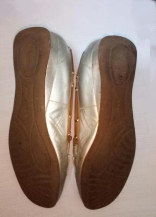 Серебряные мокасины с дополнительным ортопедическими стельками. кожа. европа5 фото