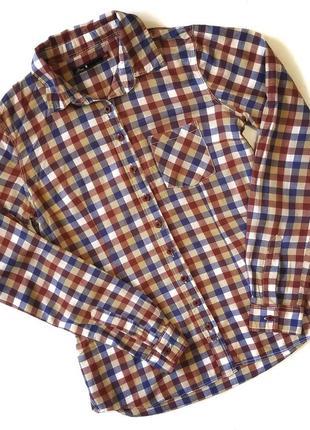 Клетчатая рубашка бренда house