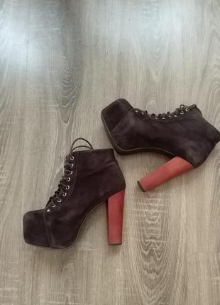 Легендарные ботинки jeffrey campbell  оригинал