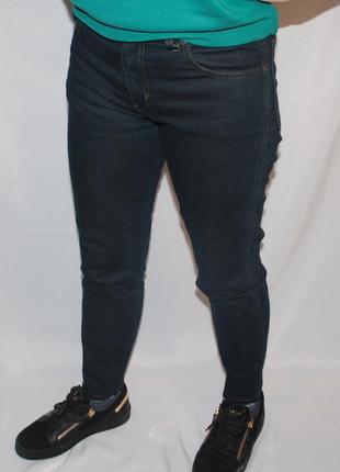 Джинсы wrangler высокая посадка темно синие мом
