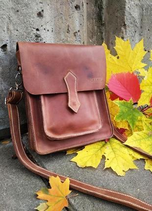 Handmade кожаная сумка ручной работы