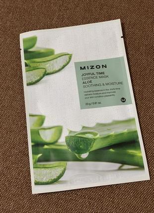 Mizon тканевая маска с алое