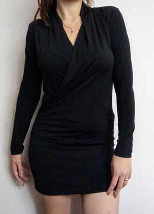 Плаття трикотажне kappahl/ маленькое черное платье