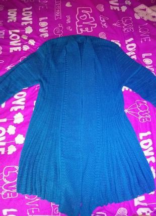 Кардиган,накидка, свитер,кофта вязаная