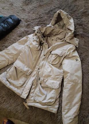 Теплая осенняя курточка р.xs