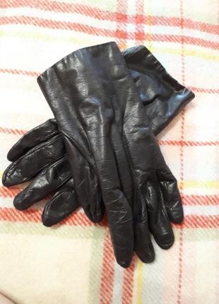 Рукавиці шкіра перчатки кожа