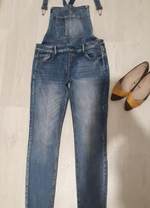 Хорошый джинсовый комбинезон👖1 фото
