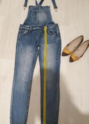 Хорошый джинсовый комбинезон👖2 фото
